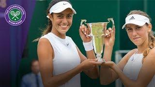 Olga Danilovic & Kaja Juvan win Wimbledon 2017 girls
