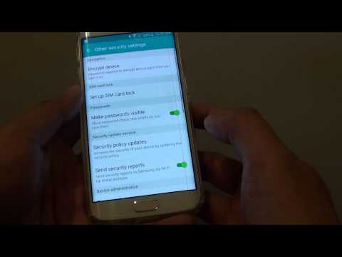 Samsung Galaxy S6 Edge: How to Enable / Disable Android Device Manager in Device Administrator