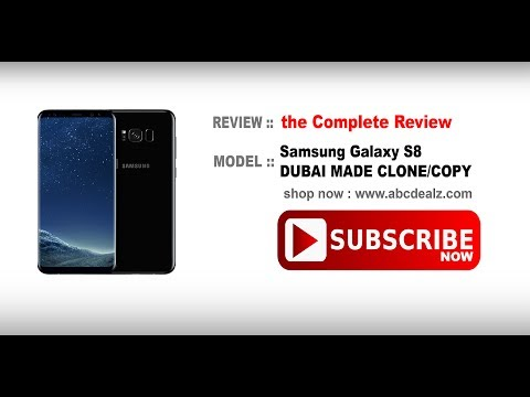 Full Review !! Samsung Galaxy S8 DUBAI MADE CLONE   SHOP NOW !! [Links Available 🔽]