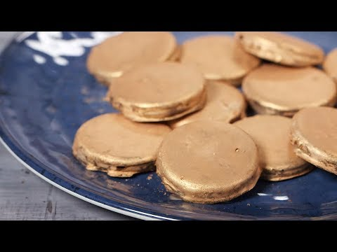 Make Your Own Golden Chocolate Coins | Southern Living