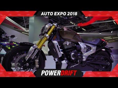 TVS Zeppelin @ Auto Expo : World's 1st Hybrid Power Cruiser : PowerDrift