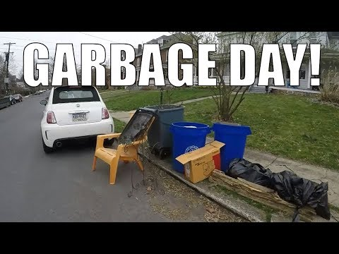 GARBAGE PICKING ON TRASH DAY - Finding Cool Things Left For Trash!