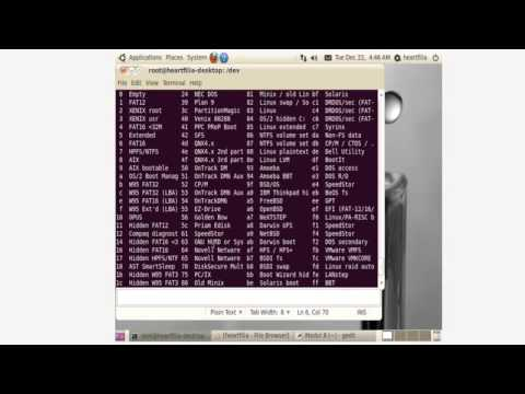 Terminal Ubuntu perintah mtools, fsck, fdisk