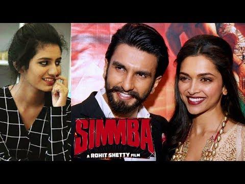 Bollywood News :  Priya Prakash की नजर है Deepika Padukone के बॉयफ्रेंड Ranveer Singh पर