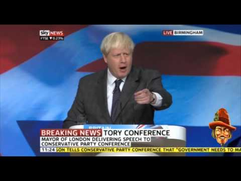 Boris Johnson Tory Party Conference Speech 2012 Highlights