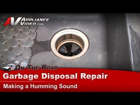 Garbage Disposal Repair & Diagnostic-Humming Not Working -Insinkerator,Badger,KitchenAid,Waste King