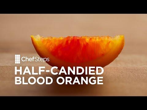 Tart-and-Juicy Candied Blood Orange