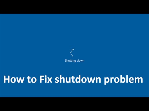 how to Fix shutdown problem in windows 10 - Howtosolveit