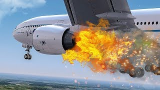 Engine On Fire | Emergency After Takeoff | New Flight Simulator 2018