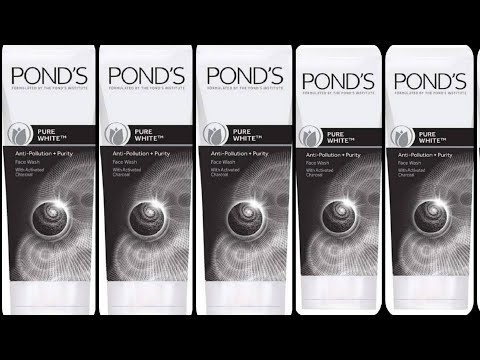 Ponds Pure White anti pollution face wash review in Hindi