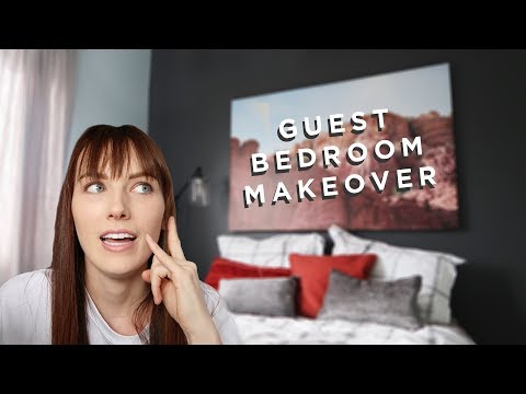 the GUEST BEDROOM MAKEOVER adventures
