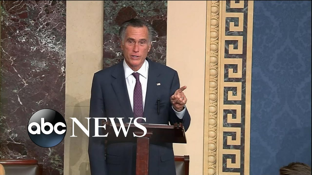 Mitt Romney delivers remarks on Capitol breach