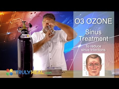 Sinus Treatments With Ozone o3 | How To Cure Sinus Infection