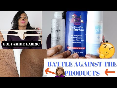 How to get rid of Razor Bumps & Ingrown: GET FAST RESULTS! PFB, Skin Doctor & Tend Skin