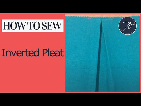 Inverted Pleat