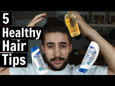 5 Healthy Hair Tips and Tricks | Mens Haircare | TheGentlemansCove