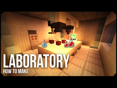 MODERN LABORATORY in Minecraft PC Edition/First PC Edition Tutorial!!!