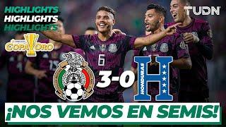 Resumen y goles   México 3-0 Honduras   Copa Oro 2021 - Cuartos   TUDN