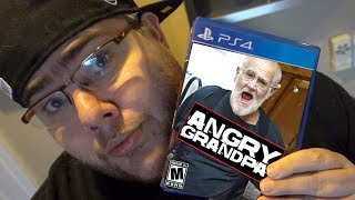 THE ANGRY GRANDPA VIDEO GAME!