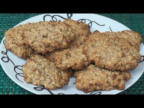 Honey Banana Oatmeal Cookie Recipe