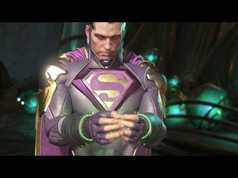 Injustice 2 Customize Superman Bizzaro Worst Costume Ability Air Heat Zap