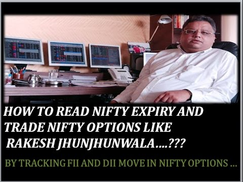 RAKESH JHUNJHUNWALA OPTIONS TRADING STRATERGY!!! NIFTY