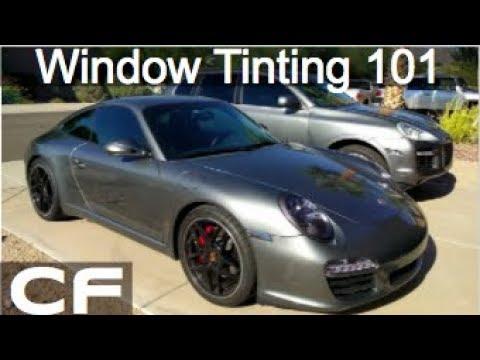 Window Tint Review - 3M / Suntek Ceramic Film (Porsche 911 / Cayenne)