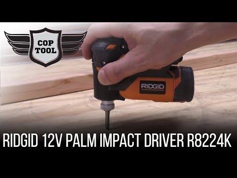 RIDGID 12V Palm Impact Driver R8224K