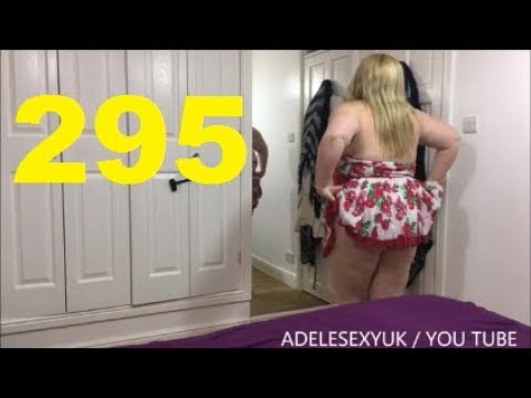 Xxx Mp4 ADELESEXYUK TRYING ON A SHORT RED ROSES DRESS 3gp Sex