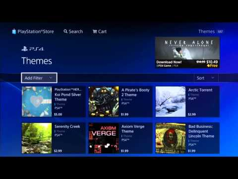 How To Change Your PS4 Background