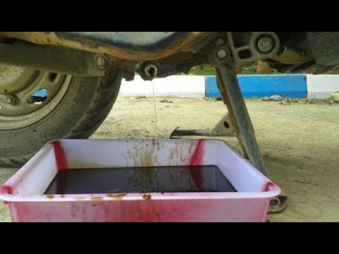 How to Change Engine Oil Honda Activa