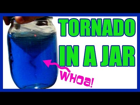 Tornado in a jar EASY KIDS SCIENCE