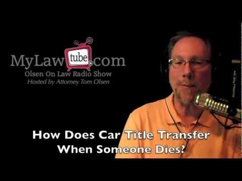 Does a car goes through probate in Florida?