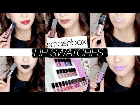 Smashbox Always On Matte Liquid Lipstick EVERY SHADE SWATCHED!