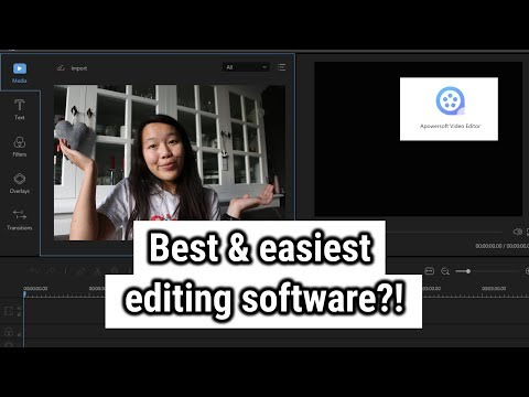 Best editing software for beginners? | Apowersoft editor review