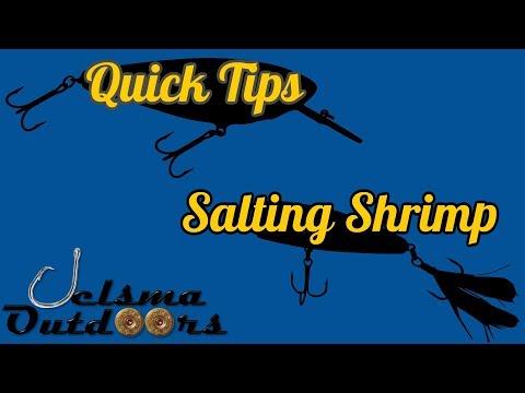BEST BAIT EVER Salted Shrimp DIY How To