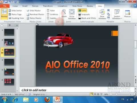 Using PowerPoint 2010 - Preview an Animation