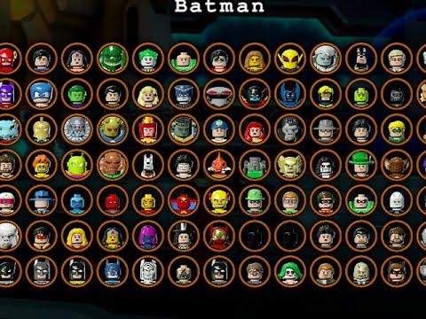 LEGO Batman 3 Beyond Gotham - ALL CHARACTERS UNLOCKED