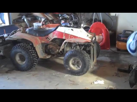 how to build CHEAP ATV plow