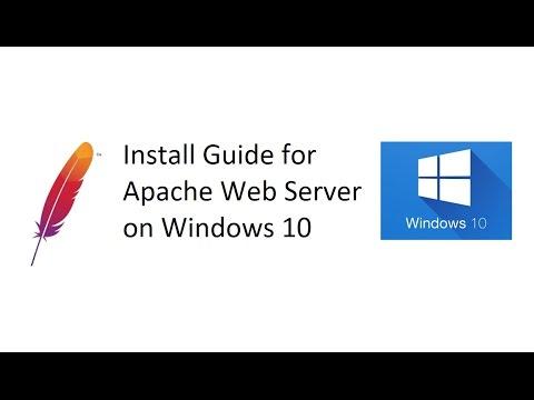 Install Apache 2.4 Server on Windows 10