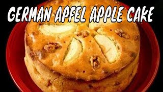 Apple or Apfel Cake
