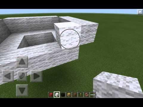 MineCraft pe creative build series: pokeball build