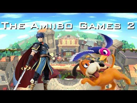The Amiibo Games 2 - Round 2 Set 6   Anime (Marth) vs. Snoopy (Duck Hunt)