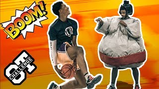 Shareef O'Neal Tries SUMO WRESTLING In Overtime Challenge! Calls Out BOUNCE BRO Cassius Stanley!