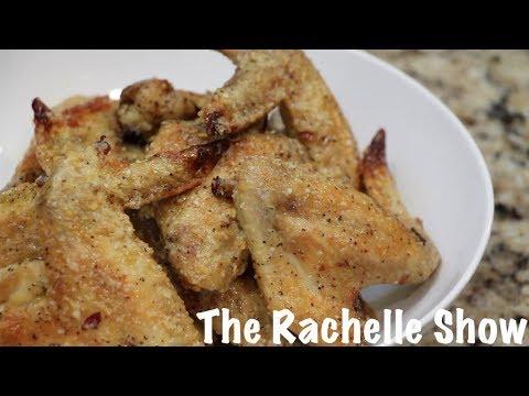 How to Make: Garlic Parmesan Chicken Wings
