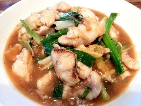 S1Ep50-Stir Fry Cod Fillets with Ginger and Green Onions 薑 蔥 炒 斑 球