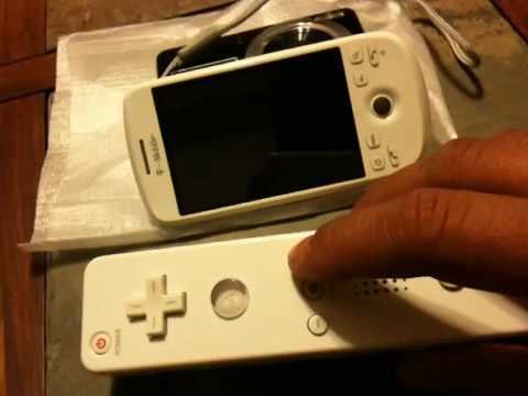 Wii controller + MyTouch 3G + Zombies Ate My Neighbors SNES