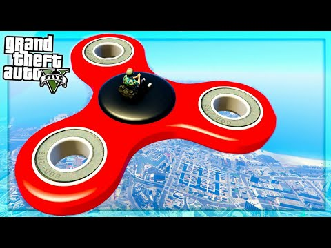 Gta five helicopter fidget spinner ride