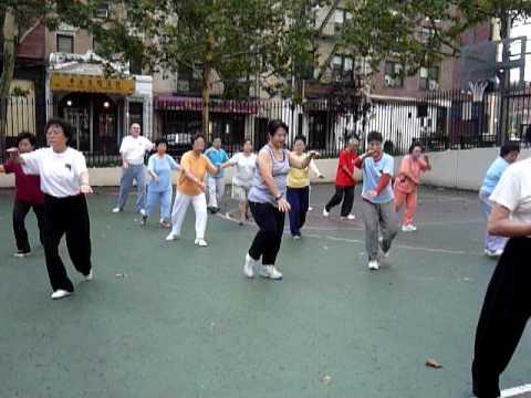 Tai Chi in Chinatown NYC