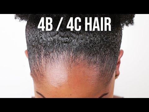 How to SLICK DOWN Natural Hair (SLEEK HIGH PUFF) (4B/4C THICK HAIR)